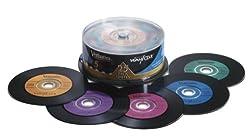 Verbatim Digital Vinyl 700 MB Multicolor CD-R Spindle 25 Discs