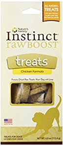 Instinct Raw Boost Freeze Dried Treats Chicken Formula by Nature's Variety, 4 Ounce
