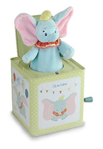 Kids Preferred Disney Dumbo Jack-in-the-Box Instrument
