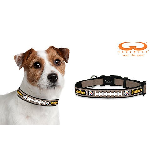 NFL Pittsburgh Steelers Reflective Football Collar at SteelerMania