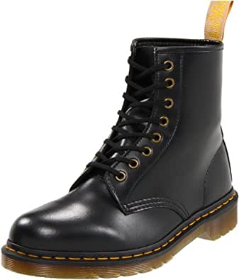 Dr Martens Vegan 1460, Boots mixte adulte - Noir (Noir black), 36 EU (3 UK)