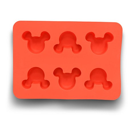 Disney Parks Exclusive Mickey Mouse Icon Silicone Muffin Mold