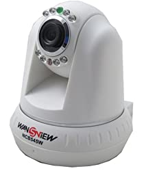 Wansview NCB-545W Wireless Wifi CCTV IP Camera,With pan/tilt function, horizontally 340° and vertically 100°