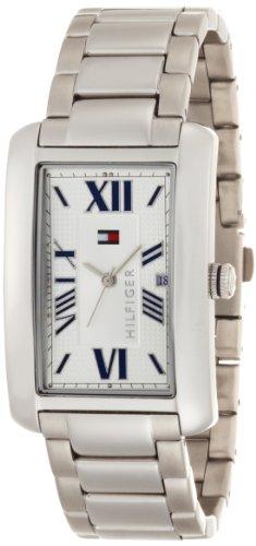 Tommy Hilfiger Men's 1710258 Classic Stainless Steel Tank Bracelet Watch