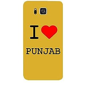 Skin4gadgets I love Punjab Colour - White Phone Skin for SAMSUNG GALAXY ALPHA (G850)