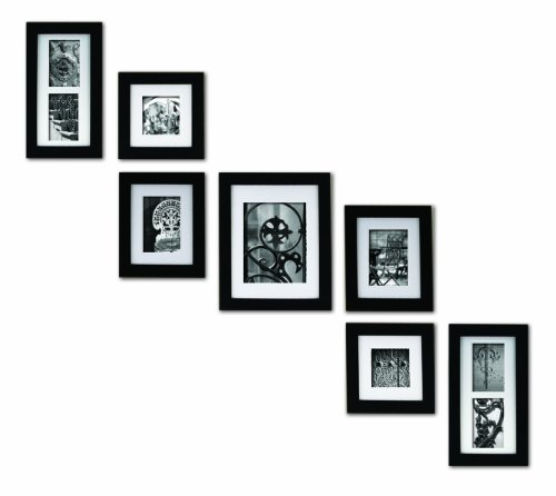 Pinnacle Frames and Accents 7-Piece Photo Frame