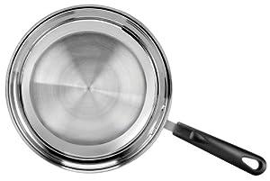 Range Kleen 10 Inch Open Fry Pan Stainless Steel