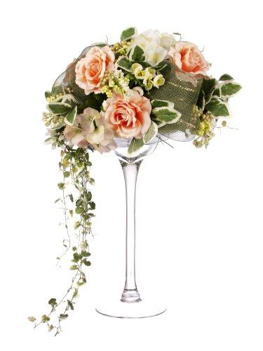 closer-to-nature-d012wpdg-rose-artificielle-dans-grand-vase-en-forme-de-verre-a-martini-corail-60-cm