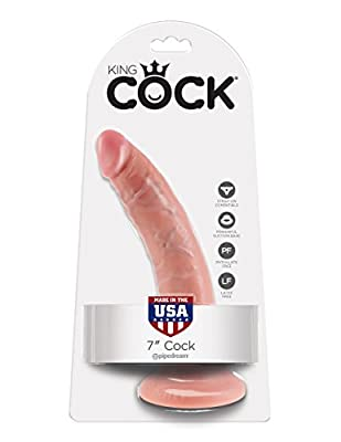 King Cock 17.8 cm Flesh Dildo