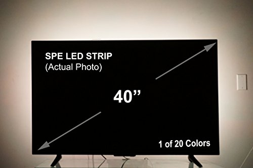 Quantity & SPE Bias Lighting for HDTV (78-inch 60 LED Multi-Color RGB) - USB ...
