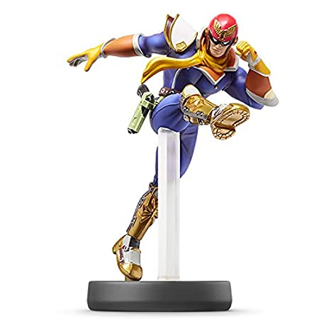 Nintendo Captain Falcon Amiibo - Japanese Language Release