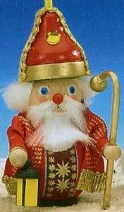 Steinbach St Nicholas Wooden German Christmas Ornament from PINNACLE PEAK