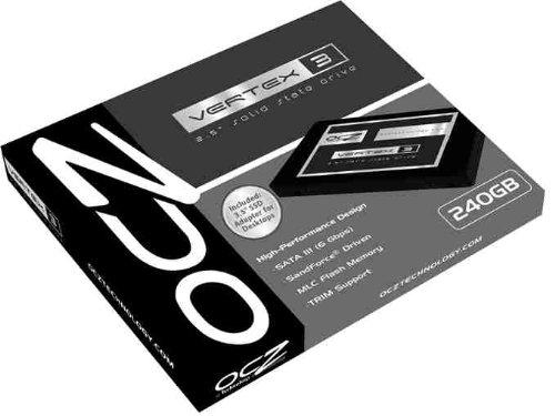 OCZ VTX3-25SAT3-90G 90GB Vertex 3 SATA III Internal 2.5 Inch SSD