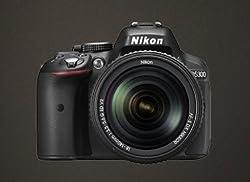 Nikon Digital Camera D5300 BK IN AF-P 18-55 & AF-P DX NIKKOR 70-300mm f/4.5-6.3G VR Kit