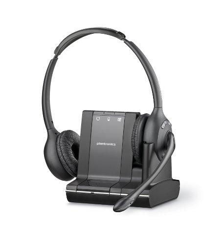 Plantronics W720 SAVI Wireless UC UK Binaural DECT Headset