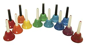 Kids Play 13-Note Chromatic Handbells from Kids Play