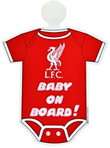 Liverpool FC Kit Baby On Board Sign by Official Football Merchandise