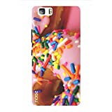 Noise Pink Sprinkle Donuts Printed Cover For Huawei P8 Lite