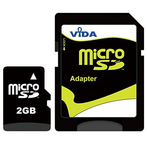 Nouva Vida IT 2GB Micro SD Scheda di Memoria per il Cellulare Alcatel - OT-V770 - Roadsign Tablet PCs - Garanzia a vita limitata - con Adattatore SD