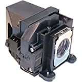 Compatible Epson Projector Lamp Replaces Part Number ELPLP57. Fits Models Epson EB 440W EB 450W EB 450Wi EB 460...