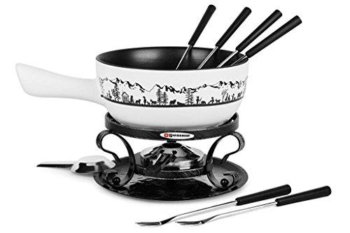 Swissmar - Heidi Ceramic Fondue Set