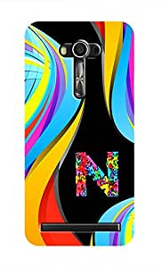 SWAG my CASE Printed Back Cover for Asus Zenfone 2 Laser 5.5