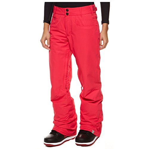 Roxy Snow Juniors Evolution Snow Pant, Raspberry, Small