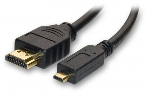 Link Depot HDMI-15-MICRO Gold Plated HDMI to HDMI Micro High Speed HDMI Cable with Ethernet