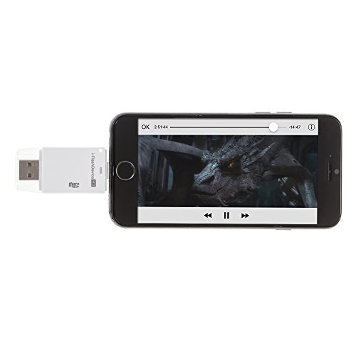 DAM - I Flash Device Para Iphone/Ipad 8 Pins R098Wh, Color White