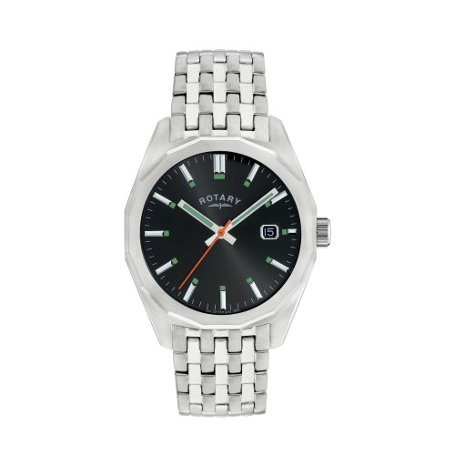 Rotary GB00226/20 Gentleman's Stainless Steel Bracelet Wrist Watch