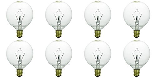 8 pack light bulb for large scentsy wax diffusers tart. Black Bedroom Furniture Sets. Home Design Ideas
