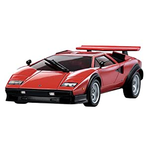 Auto Scale Collection FX-101RM Countach LP500S Red (japan import)