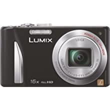 Panasonic Lumix DMC-TZ25GA-K 12.1MP Point-and-Shoot Digital Camera (Black) with 4GB SD Card, Carry Case