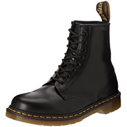 Dr. Martens Original 1460 Stivaletti unisex, Nero (Black Smooth), 40