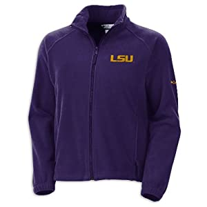 NCAA Louisiana State Tigers Ladies Striker Sweater by Columbia