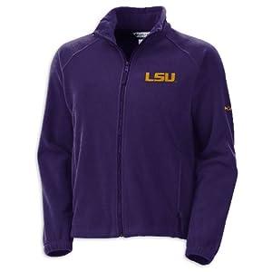 NCAA Louisiana State Tigers Ladies Striker Sweater by Columbia