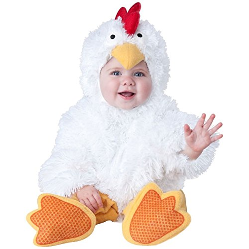 GSG Baby Chicken Costume Little Chick Halloween Fancy Dress (Wild West Fancy Dress)