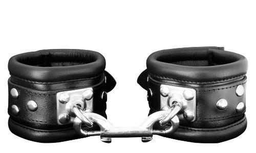 mejou Handfessel weich gepolstert mit speziellem 360° drehbaren Edelstahlring