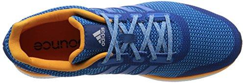 Adidas Performance Men's Mana Bounce Running Shoe,Equipment Blue/White/Shock Blue,12 M US