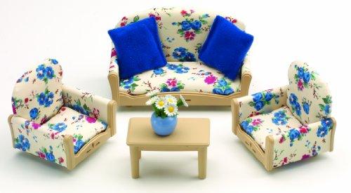 Sylvanian Families Sofa & Armchairs Set