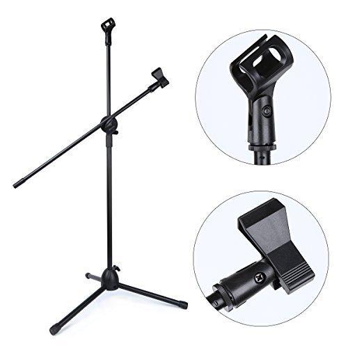 Mikrofon Ständer, Crenova Mikrofon Bodenstativ - 4