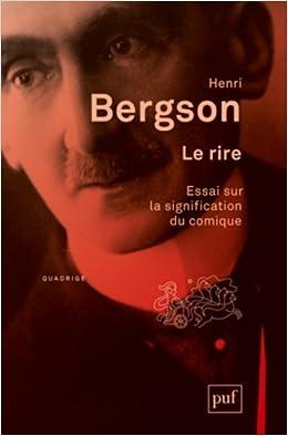 Le Rire - Henri Bergson