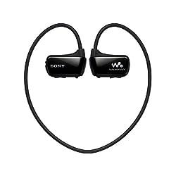 SONY ウォークマン Wシリーズ 8GB ヘッドホン一体型 防水タイプ ブラック NW-W274S/B