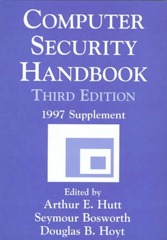 Computer Security Handbook, 3rd Edition: 1997 Supplement
