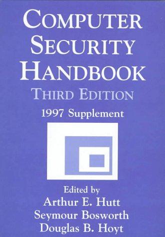 Computer Security Handbook, 3rd Edition: 1997 Supplement