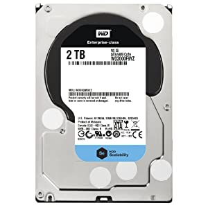 Western Digital 2 TB 3.5-Inch WD Se SATA III 7200 RPM 64 MB Cache Bulk/OEM Enterprise Hard Drive WD2000F9YZ [Amazon Frustration-Free Packaging]
