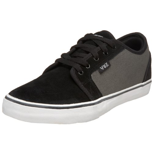 Vox Men's Eman Duece Skate Shoe,Black/Grey,11