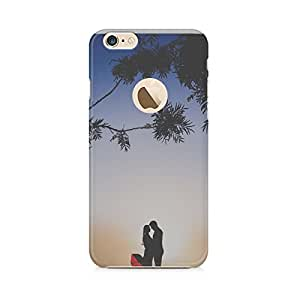 Motivatebox-Apple Iphone 6/6s with hole cover-Love happens Polycarbonate 3D Hard case protective back cover. Premium Quality designer Printed 3D Matte finish hard case back cover.