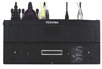 Toshiba Advanced Port Replicator II for Sat Pro 6100, M10, M15, 4010, S1, and M1 Series (PA3082U-2PRP) from Toshiba