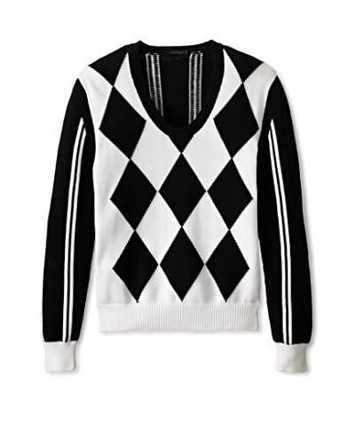 Valentino Men's Diamond Sweater